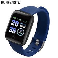 New Good-Value 116 Plus Smart Watch Wristband <b>Sports</b> Fitness ...