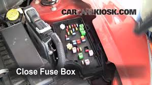 replace a fuse 2007 2012 dodge caliber 2008 dodge caliber se 6 replace cover secure the cover and test component