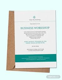 Formal Business Invitation Wording Free 33 Business Invitation Designs Examples In Psd Ai