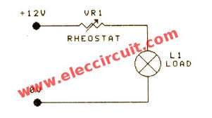 pwm dc motor controller circuit com the simple dimmer using rheostat resistors