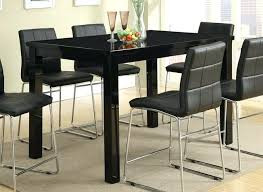 full size of oslo 120cm black high gloss stowaway dining table and chairs sets finish counter