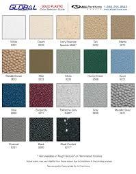 Solid Plastic Colors