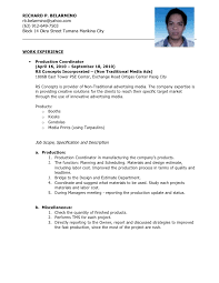 Production Operator Job Description Resume Machine Operator Job