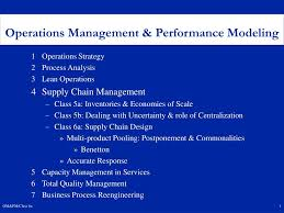 Process Design And Analysis In Operations Management Ppt 1 Operations Strategy 2 Process Analysis 3 Lean