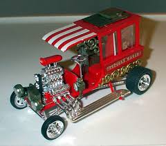 new model car kit releasesAMT Popcorn Wagon show Model Car Kit