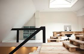 posh office furniture. speaking of palletsu2026 hereu0027s a clever reuse shipping pallets as posh office furniture i personally prefer more rustic aesthetic but this slick