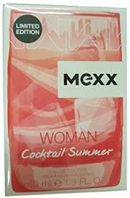 <b>MEXX Women Cocktail</b> Summer Eau De Toilette Spray 40 ml ...