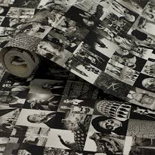 1 wall life collage pattern photo cover wallpaper w10mlife01