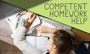 competent homework essay help will solve writing problems