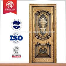 latest design for main door of wooden single double teak wood front designs houses in kerala