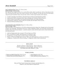 Resume Examples Kitchen Resume Examples