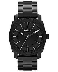 stainless steel bracelet bracelet watch and stainless steel on fossil watch men s machine black tone stainless steel bracelet 42mm fs4775 men s watches