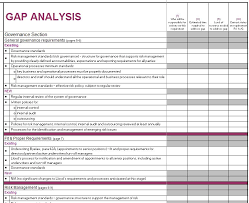 Analysis Templates Cool 48 Gap Analysis Templates Exmaples Word Excel PDF