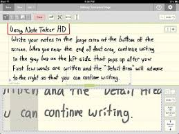 essay writing handwritten notes com ipad note taker hd