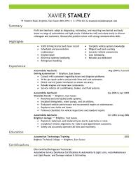 Build My Own Resume For Free EyeGrabbing Mechanic Resumes Samples LiveCareer 92