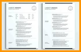 One Page Resume Format Doc One Page Resume Format Doc Clipart Images Gallery For Free