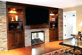 costco electric heater fireplace tv stand entertainment center built shelf solid wood lamp white stone wall