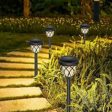 solar garden lights outdoor yomisee