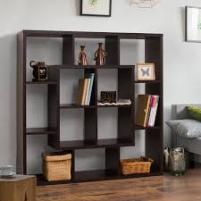 Furniture of America Aydan Modern Square Walnut Bookshelf/Room Divider -  Free Shipping Today - Overstock.com - 16550222