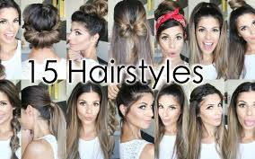15 back to heatless hairstyles