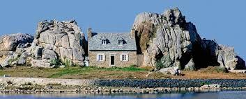 maison sur ile face ploumanach