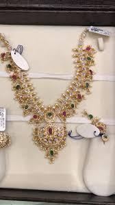 Gold Long Necklace Designs In 35 Grams 40 Gms Premraj Shantilal Jain Jewellers Neck Indian