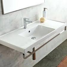 fine wall hanging sink bathroom wall mount vanity sinks exquisite wall mounted bathroom sinks of ml ceramic mount sink with overflow wall mounted bathroom