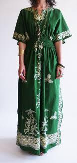 Vintage 1970s Batik Kaftan