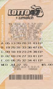 otsego county man wins million lotto jackpot michigan 07 24 15 lotto 47 07 22 15 draw 13 093 579 anonymous ostego county