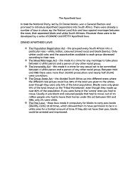 The Apartheid Laws Black History 4 Schools