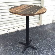 wood pub tables sets made of reclaimed weathered pallet wood this table top is set on wood pub tables sets