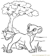 Small Picture Lion King Coloring Page 10 Coloring Page Free Lion Coloring