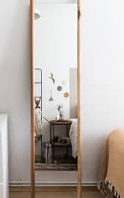 diy standing mirror in the scandi style
