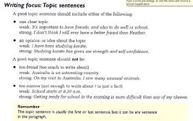 notes just another wordpress com site in paragraph topic sentences will followed by secondary sentences usually one topic sentence will have more than three secondary sentences which give