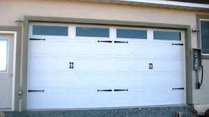 Faux Garage Door Hardware House Update Garage Door The Wood Grain Cottage