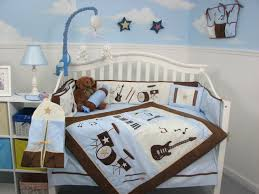 stunning baby nursery room decoration using baby boy bedding crib set breathtaking blue baby