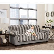 sofa pet covers. Maytex Smart Fit 3-Piece Faux Fur Sofa Pet Cover In Grey Ombre Covers