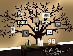 family tree photo wall tree decals for walls beautiful family tree wall and family tree wall