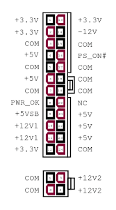 power supply unit computer wiring diagrams edit