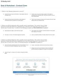 Reading Worksheets Context Clues 5th Grade Multiple Choice Verb ...