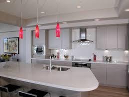 image of kitchen island pendant lighting pink