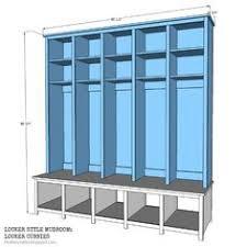as promised last week iu0027m back sharing the locker style mudroom build and plans diy s5 plans