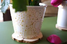 Designs For Flower Pot Painting 42 Painted Flower Pots Guide Patterns