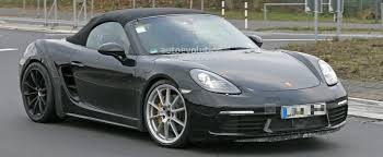 2018 porsche 718 cayman gts. delighful cayman 2018 porsche 718 boxster gts makes spyshot debut to be a turbofour  phenomenon  autoevolution for porsche cayman gts r