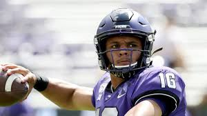 Baylor Qb Depth Chart Ex Tcu Starting Qb Alex Delton Departs Program Leaving