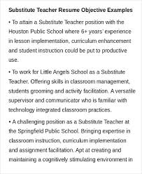 Objective For Teaching Resume Objectives For Teaching Resumes 58