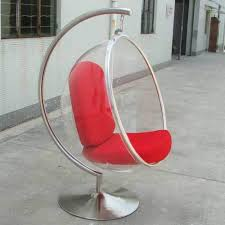 cool lounge furniture. Cool Booth Bubble Chair Lifts Transparent Acrylic Ball Hanging Lounge Rocking Furniture O
