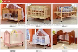 european luxury white and golden wooden crib baby cot
