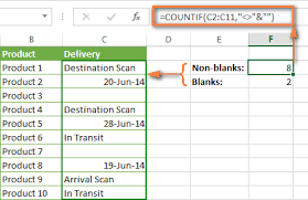 Blank And Excel Countif Examples Not Blank Greater Than Duplicate Or Unique