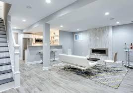 basement tile floor modern basement with wood design porcelain tile floor installing tile over basement concrete